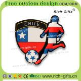 주문을 받아서 만들어진 훈장 선물 연약한 고무 냉장고 자석 기념품 칠레 (RC-CL)