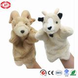 Handpop van de Pluche van de sesam de Populaire voor het Grappige Stuk speelgoed van Jonge geitjes