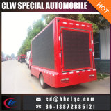 One Side Scrolling Billboard LED Véhicule LED Mobile Advertising Truck