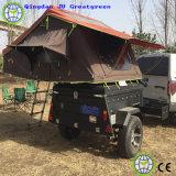 Carpa trailer de la familia de viajes a Camp