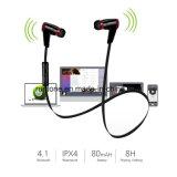 De Oortelefoons van de Sport van de Hoofdtelefoon van de Agent van Earbuds van Bluetooth met Mic en de Garantie van Sweatproof van het Leven