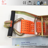 A catraca amarra para baixo para a chicotada e o transporte do cofre forte com alta qualidade