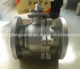 Шариковый клапан с нержавеющей сталью RF конца фланца