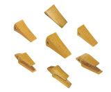 Daewoo 220, dentes 2713-1217RC-2 da cubeta da máquina escavadora, máquina escavadora parte o dente da cubeta