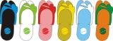 Deslizador descartável do Manicure de Pedicure dos TERMAS da massagem do hotel (EVAS-043)