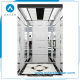 Precio barato rayita Aguafuerte S. S de cabina para ascensor de pasajeros (OS41)