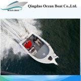 yacht di alluminio di pesca sportiva di prezzi bassi del rifornimento della fabbrica di 17FT