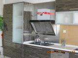 Quartz StoneのWood自然なVeneerの食料貯蔵室Cabinets
