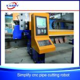 銅/アルミニウム管のための重い管CNC血しょうカッティング・ドリリング機械