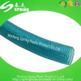 Mangueira industrial reforçada da tubulação de descarga da água do fio de aço do PVC