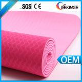 Estera gruesa superventas de la yoga del aseguramiento comercial/estera del ejercicio