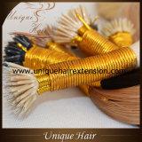 Extensões Nano européias do cabelo da ponta de Remy