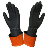 Gant en caoutchouc Gloves/Work Gloves/Safety de gant industriel (P40BB001)