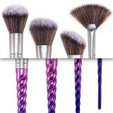 Ensemble de brosse à maquillage fonctionnel nouveau design 8PCS avec les plus récents éponges en silicone