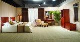 Mobília moderna de madeira do quarto do quarto de hotel da sala de visitas Home