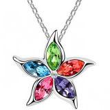 Manera Crystal Necklace Jewelry para Women (de calidad superior en yiwu) (2897)