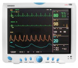15 '' TFT Cms9200 6 multiparámetro UCI Monitor de Paciente-SpO2, PR, PANI, Resp, Temp, ECG