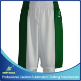 Shorts completi su ordine di pallacanestro di alta qualità di sublimazione