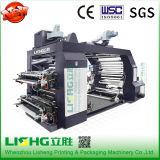 기계를 인쇄하는 냅킨 4 색깔 수동 활판 인쇄