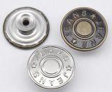 Le fil et le nickel de bouton de jeans en métal libèrent pour l'habillement de l'homme, de femme et de gosses
