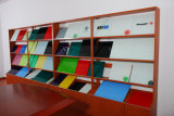 Office Supply Frameless Painted Colored Glass Writing Board