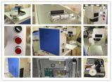 싼 가격 소형 금속 광섬유 색깔 Laser 철사 조각 표하기 기계