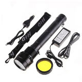 2000の内腔6000k Color Temperatureの1km Distance LED Flashlight