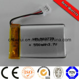 높은 Quality Rechargeable 602030 300mAh Li Polymer Battery