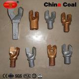 Botón de acero al carbono rosca Bits Rock Drill Taladro Botón