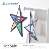 カスタム敏感な星の形の刺繍のバッジ