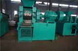 Schwarze Holzkohle-Kugel-Brikett-Presse, die Maschine herstellt