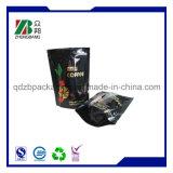 Fastfood- mit Reißverschlussverpackungs-Beutel für schwarzer Tee-Verpackung
