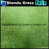 Doubles niveaux desserrant la touffe d'herbe de synthétique de 23mm