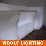 더 많은 것 300 디자인 LED KTV 바 카운터 가구 LED 호텔 정원 플라스틱 가구