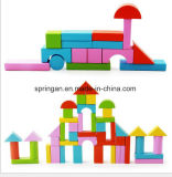 50 brinquedos geométricos DIY dos blocos de apartamentos da forma do PCS