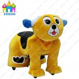 Plüsch Dog Fun Kiddie Rides Zippy Animal Walking Car für Shopping Center