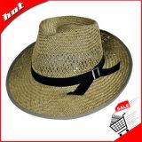 빈 밀짚 모자 중절모 모자