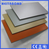 El panel compuesto de aluminio de PE/PVDF de la fábrica de Linyi