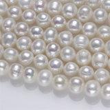 hilo de agua dulce verdadero natural del collar de la perla de la venta caliente grande de 11-12m m