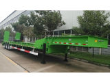 3개의 차축 Heavy Loading 70t Low Bed Semi Trailer