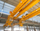 Grúa de arriba europea de la viga del doble del uso de la fábrica de 20 toneladas