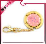 Gancio piegante promozionale personalizzato Keychain del sacchetto con il Rhinestone
