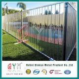 Clôture provisoire soudée de treillis métallique/clôture provisoire galvanisée amovible extérieure