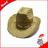 Natürlicher Strohhut-fördernder Cowboyhut