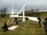 sistema di generatore del vento 5kw per uso dell'azienda agricola o della casa