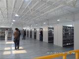 Plate-forme industrielle d'acier en métal de mémoire d'entrepôt