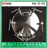 Cubierta de boca oval exterior de la presión de la categoría alimenticia del acero inoxidable AISI304