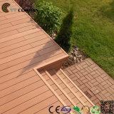 Decking WPC de bois de construction de patio de café extérieur