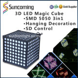 Digital 3D Magic Cube Disco-Nachtclub LED-Licht
