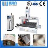 para a máquina de madeira do CNC do router do fabricante 4axis 1530atc de China da venda